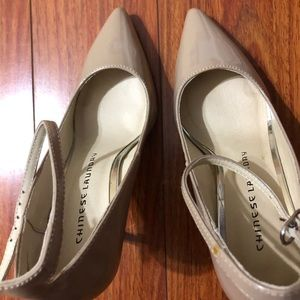 Beige Chinese Laundry shoes